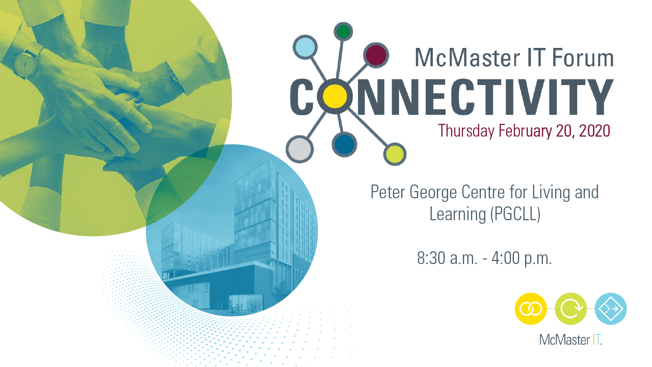 McMaster IT Forum Connectivity Poster