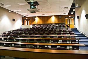 Image of lecture hall at McMaster