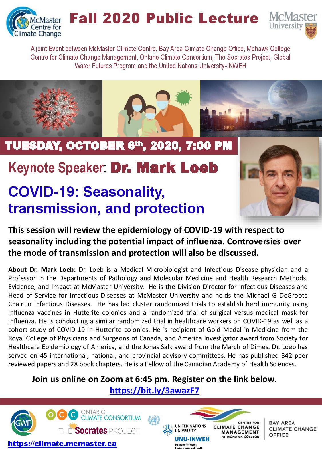 Poster for Fall Lecture