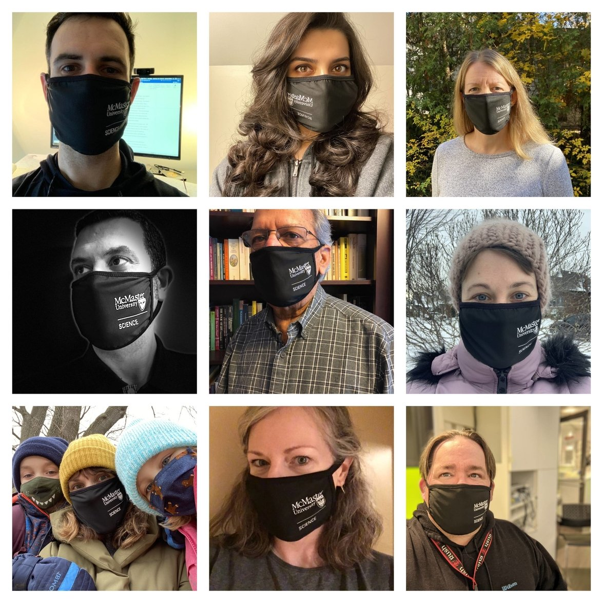 faculty wearing mask