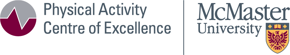 Physical Activity Centre of Excellence Logo