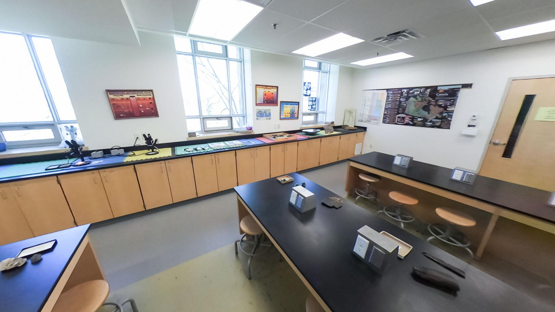 ROCK AND MINERAL ANALYSIS LAB